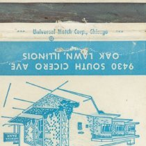Image of American Bank of Oak Lawn Matchbook