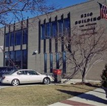 Image of 5210 Office Building - This is a photograph featuring a view of the 5210 W. 95th Street office building. It housed law, insurance, and accountant businesses. The building is now owned by the Village of Oak Lawn. It continues to house some Village related and other businesses including Congressman Daniel Lipinski's office.