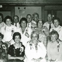 Image of Simmons School Reunion - 1989 - This is a photograph of a reunion of Simmons School classmates in 1989. They are unidentified.