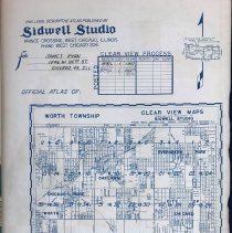 Image of 1953 Sidwell Studio Worth Township Map Collection