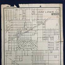 Image of 1945 Map of Oak Lawn