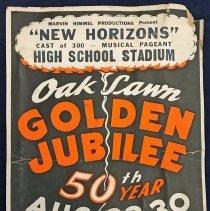 Image of Oak Lawn Golden Jubilee Poster
