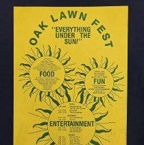 Image of Oak Lawn Fest Poster