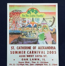 Image of St. Catherine of Alexandria Summer Carnival Poster