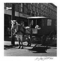 Image of Horse and Wagon, Sutter Avenue, East