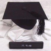 Image of 1977.075.0004b - Cap, Graduation
