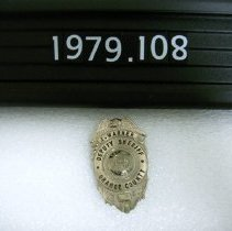 Image of 1979.108.0001 - Badge