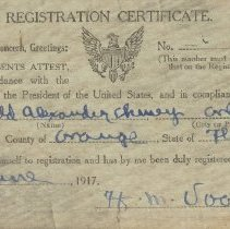 Image of 1982.050.0052 - Card, Draft