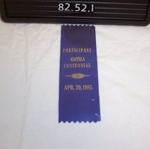 Image of 1988.052.0001 - Ribbon