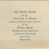 Image of 1982.053.0004 - Invitation