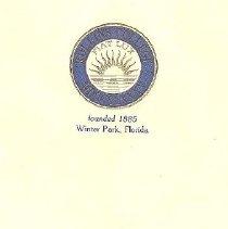 Image of 1982.110.0001 - Program