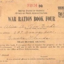 Image of Ration Book Cover