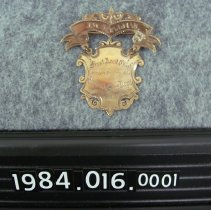 Image of 1984.016.0001 - Badge, Fire