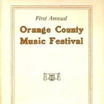 Image of 1985.072.0001 - Program