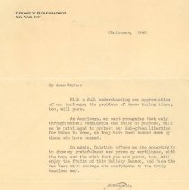 Image of 1985.080.0001 - Letter