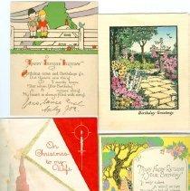 Image of 1986.062.0001 - Card, Greeting