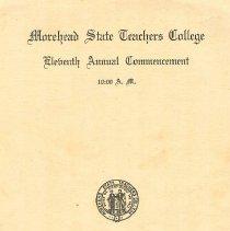 Image of 1987.143.0001 - Program
