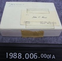 Image of 1988.006.0001a - Box