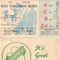 Image of Football Tickets (front & back