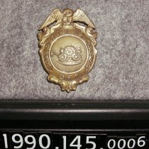 Image of 1990.145.0006 - Badge, FIre