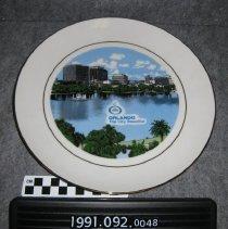 Image of 1991.092.0048 - Plate, Commemorative