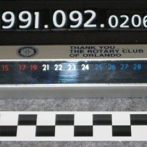 Image of 1991.092.0206 - Thermometer