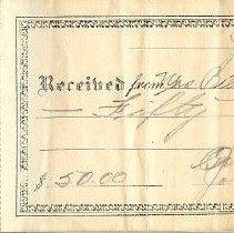 Image of 1992.043.0032 - Check, Bank
