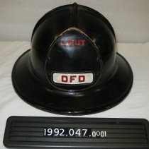Image of 1992.047.0001 - Helmet, Firefighter's