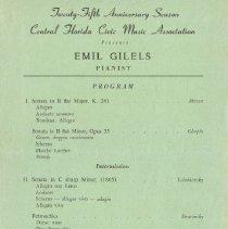Image of 1993.146.0001 - Program