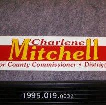 Image of 1995.019.0032 - Sticker, Bumper