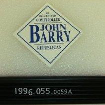 Image of 1995.055.0059a - Sticker, Bumper
