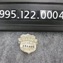 Image of 1995.122.0004c - Badge, Police