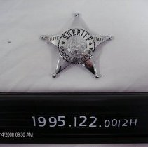 Image of 1995.122.0012h - Badge