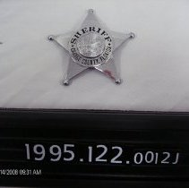 Image of 1995.122.0012j - Badge