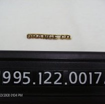 Image of 1995.122.0017a - Pin, Occupational