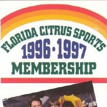 Image of FL Citrus Sports Brochure Cove
