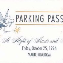Image of Parking Pass (Front) (FF3)