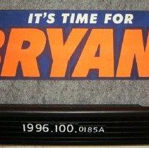 Image of 1996.100.0185a - Sticker, Bumper