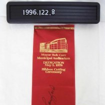 Image of 1996.122.0008 - Ribbon