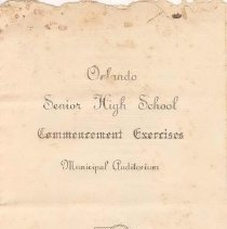 Image of Commencement Program (Cover) (