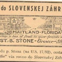Image of Slovak Garden Ad (FF6)