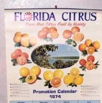 Image of 1997.087.0006 - Calendar