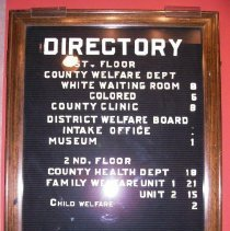 Image of 1997.099.0001 - Sign