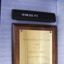 Image of 1998.069.0192 - Plaque