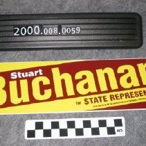 Image of 2000.008.0059 - Sticker, Bumper