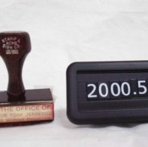 Image of 2000.057.0003 - Stamp
