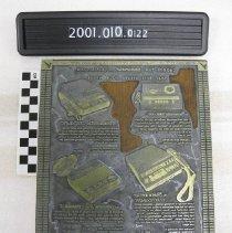 Image of 2001.010.0122 - Block, Printing