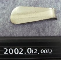 Image of 2002.001.0012 - Shoehorn