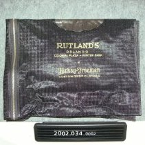 Image of 2002.034.0002 - Bag, Garment