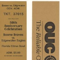 Image of Edgewater Tickets (Front and B